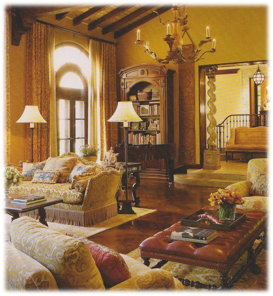 Best 10 stunning tuscan living room designs exquisite for Tuscany living room ideas