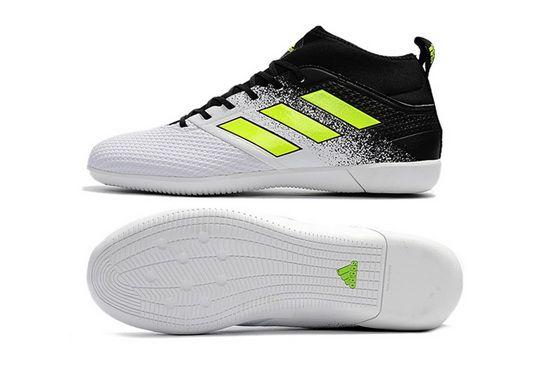 158f38628779 Adidas Ace 17 3 Primemesh Ic White Black Yellow New Arrival 2018 Shoe