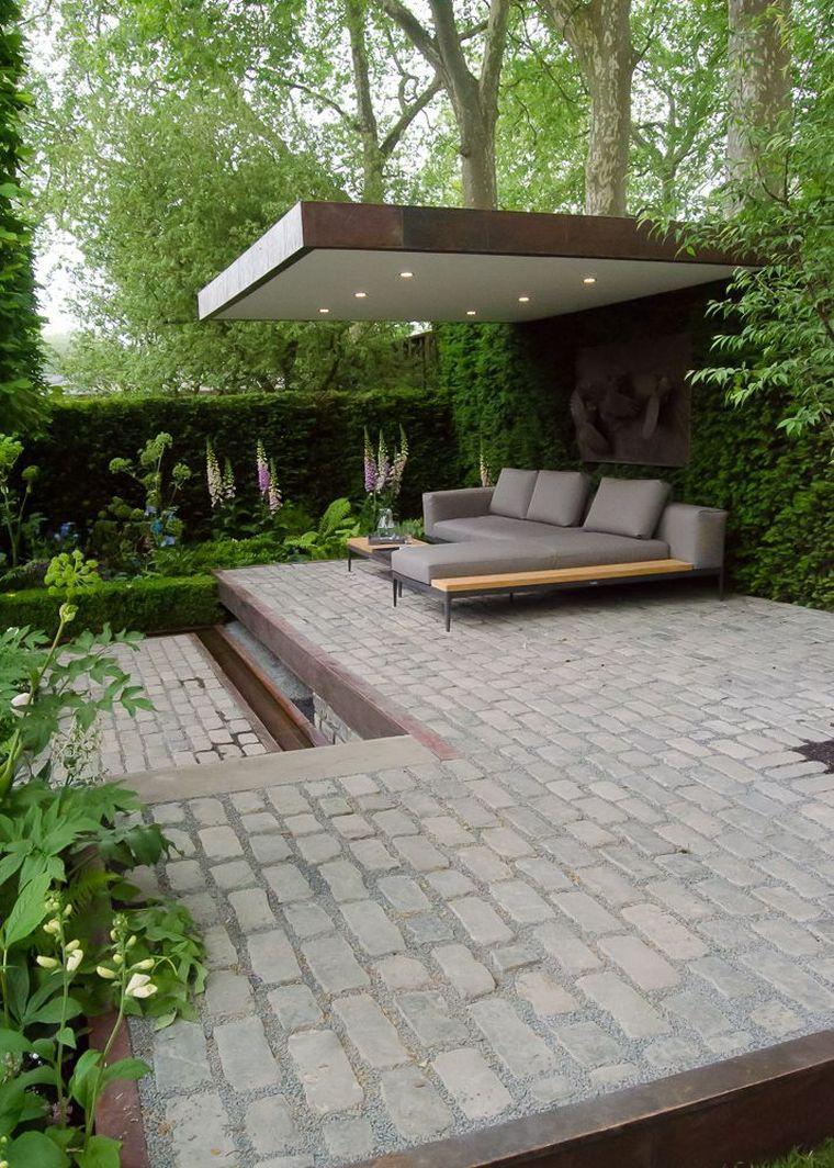 Deco Petite Terrasse Exterieur déco d'extérieur de jardin pinterest et pergola moderne avec