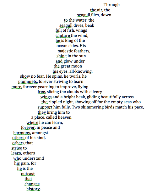 Poetry Is Never Boring Concrete Poem Poetry Ideas Fun Poetry