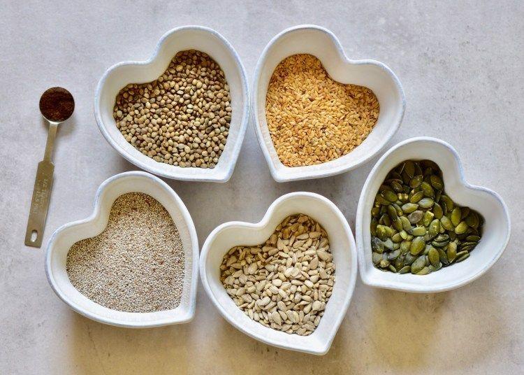 Diy 5seed vegan protein powder blend recipe vegan