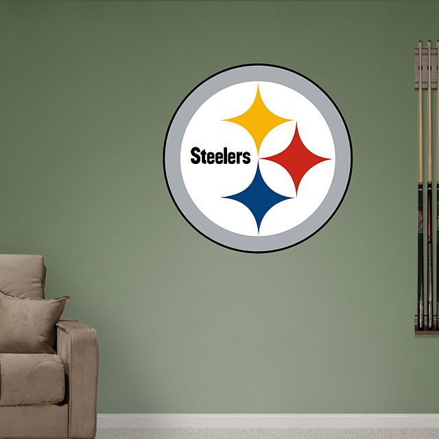 Pittsburgh Steelers Logo Giant Officially Licensed Nfl