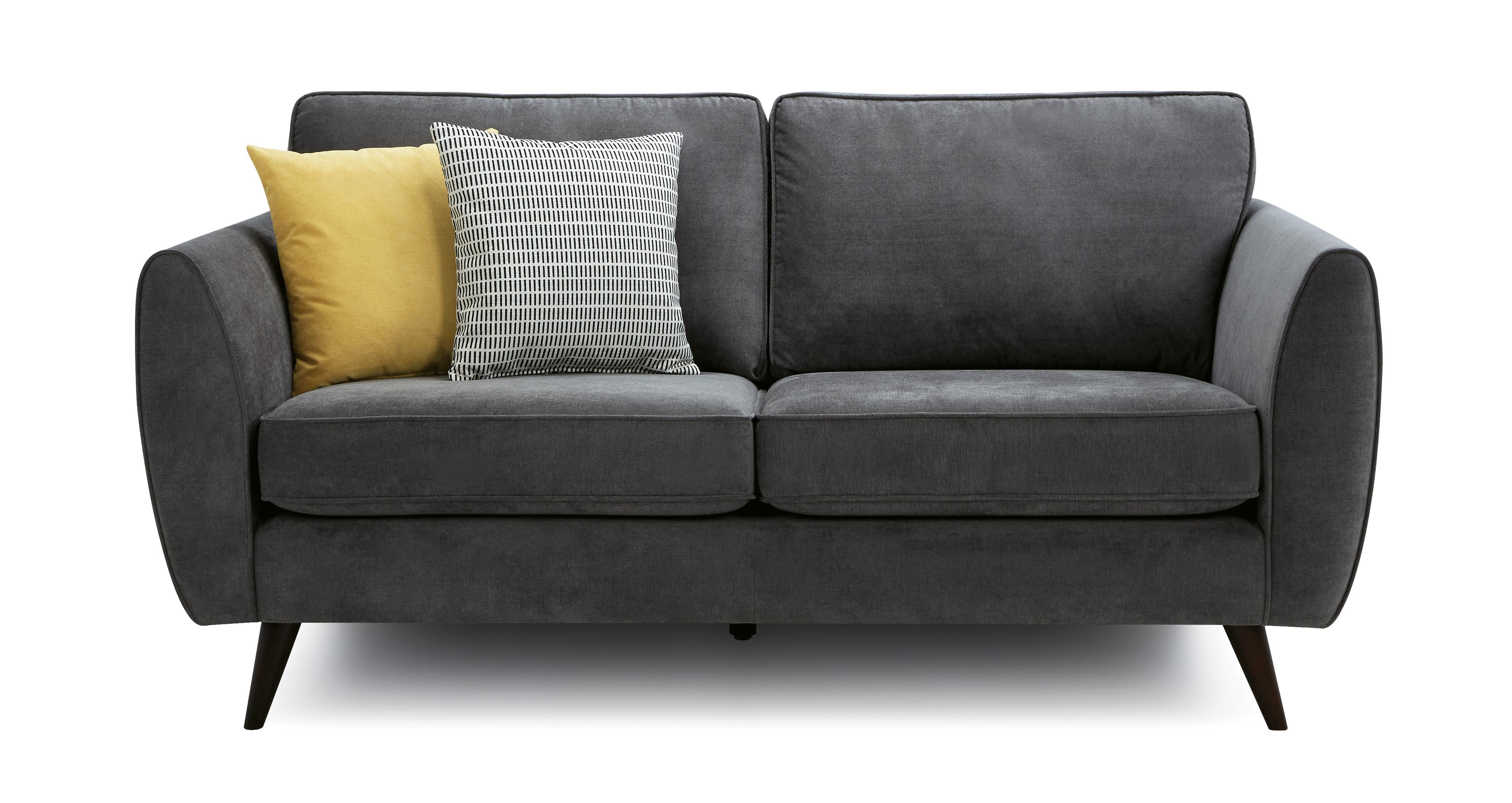 Kyra: 3 Seater Sofa Removable Arm in 2020 | 2 seater sofa, 3