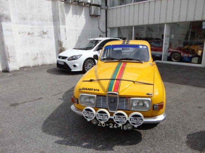 1972 Saab, 96 V4  24500.00 EUR  Saab 96 V4 Ano 1972 Km 43.746 Chassi 96722006335 Carro preparado para provas clássicas. Tendo participado no rallye de Monte Carlo Historique em 2009 Tem ficha de homologação e documentos FIA Como novo pronto para participar em qualquer prova. Preço fixo 19.900€  http://www.collectioncar.com/detailed.php?ad=37496&category_id=1