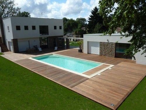 Terrasse en bois en ipe   Feucherolle Yvelines (78). Pose des ...