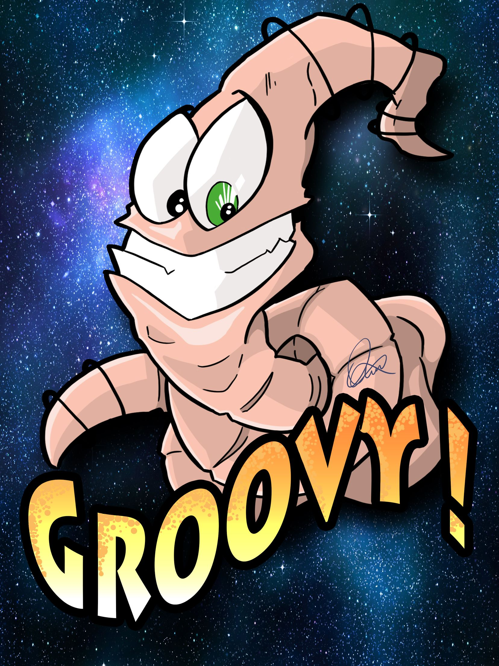 Earthworm Jim.   Follow me on Instagram and Twitter @omgxero