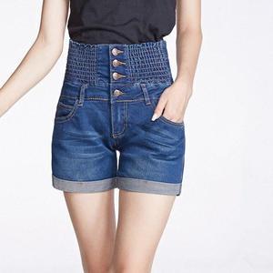 Plus Size 26 40 High Waist Denim Shorts For Women Summer