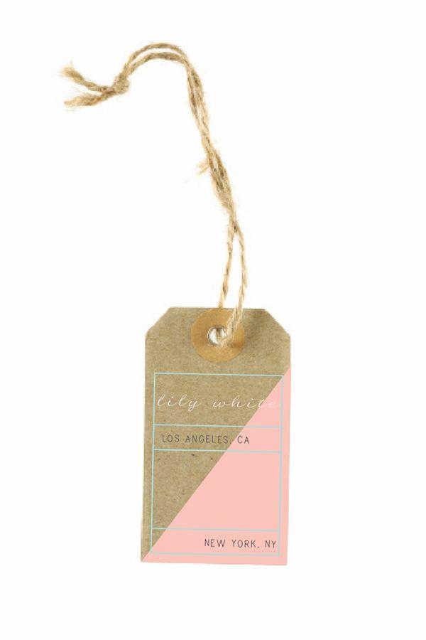 Lily White Hangtag Mockups on Behance | Jewels | Pinterest | Mock ...