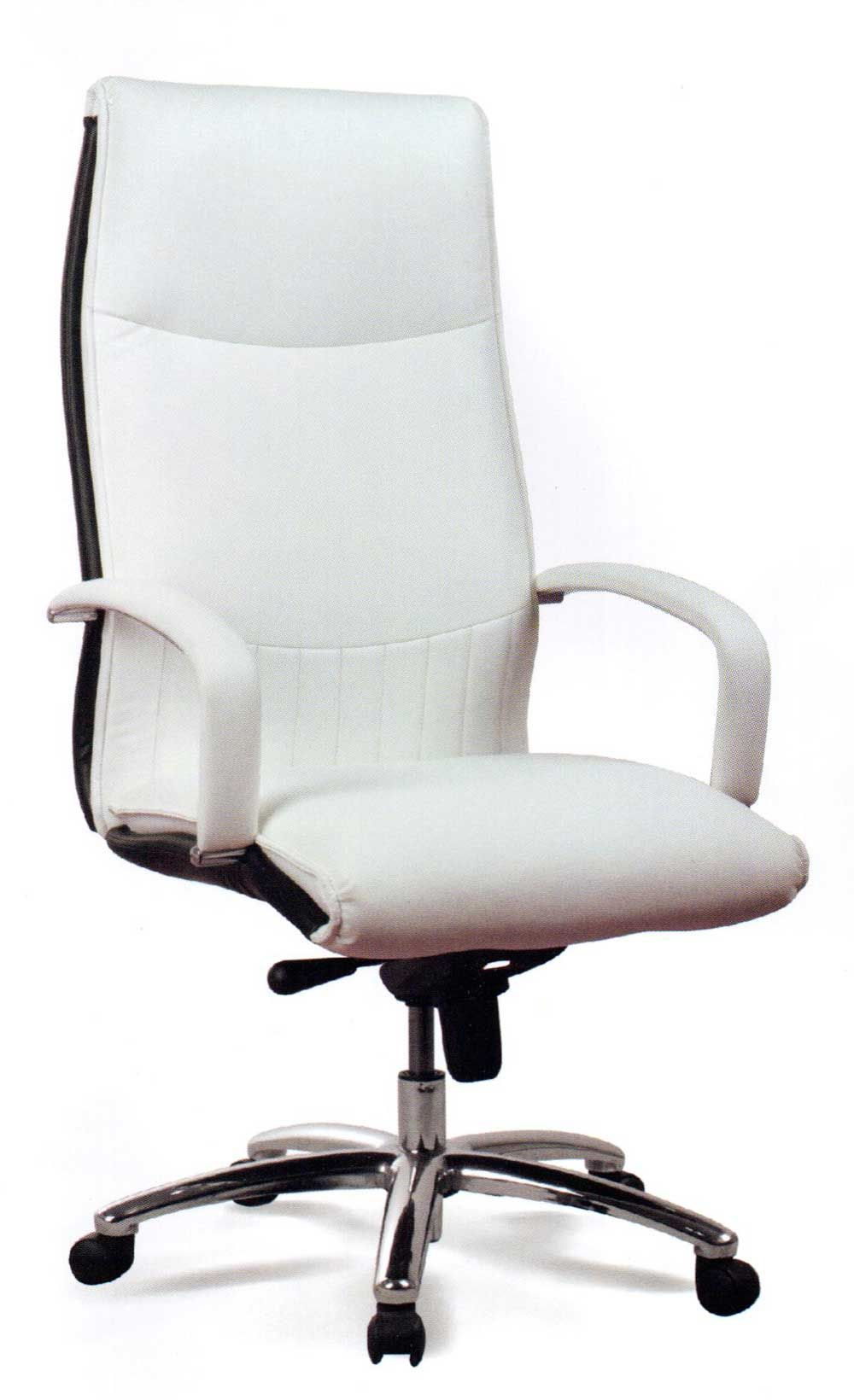 Delicieux Ergonomic Executive White Leather Office Chair