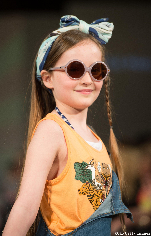 Model wearing Little Paul & Joe Spring/Summer '13 and ...