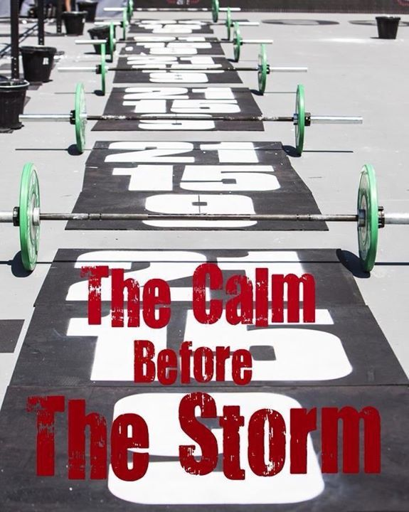 The Calm Before The Storm Crossfit Crossfit Crossfit Motivation Crossfit Weightlifting