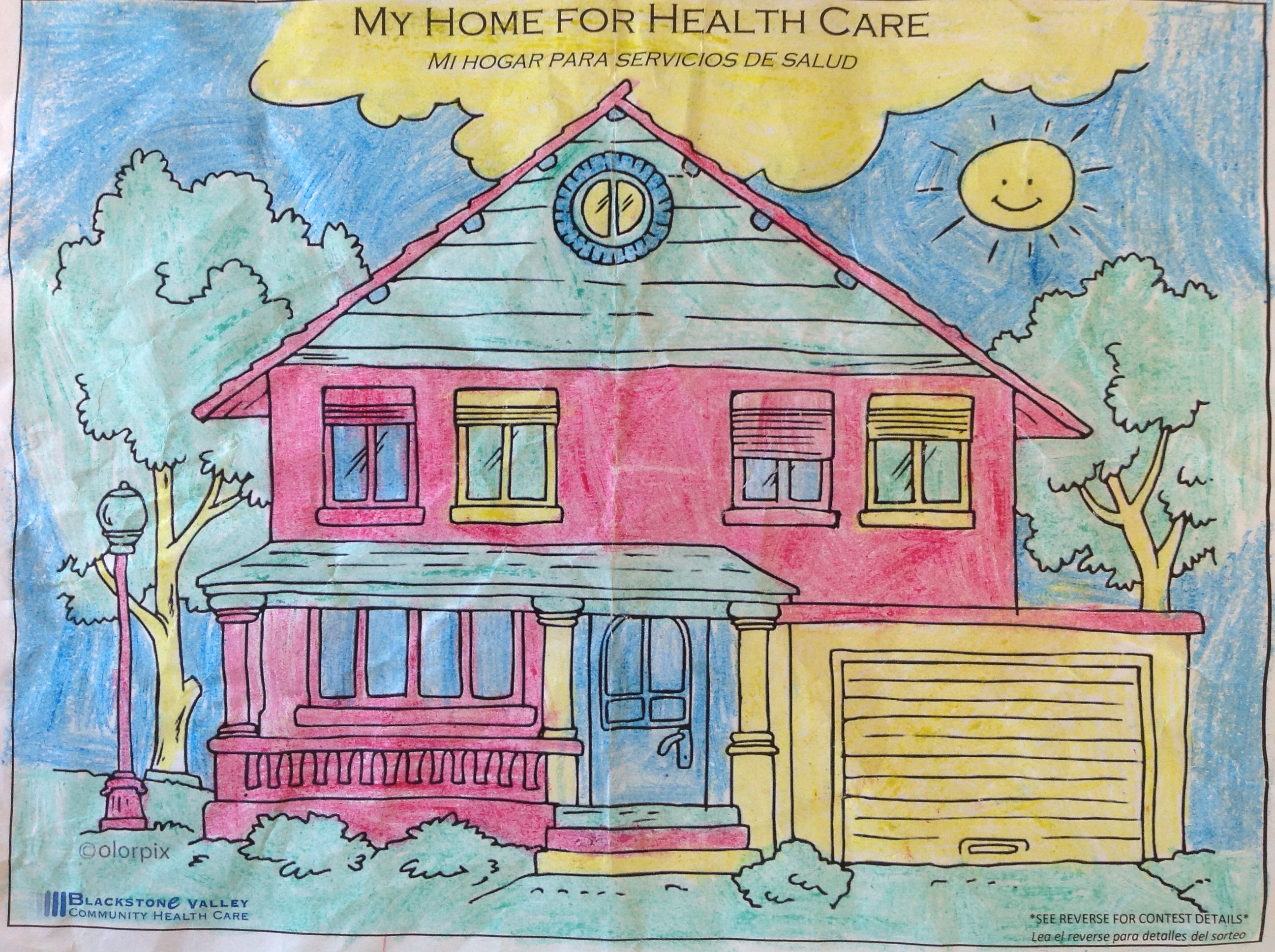 By emerson age 8 coloring contest childrens painting