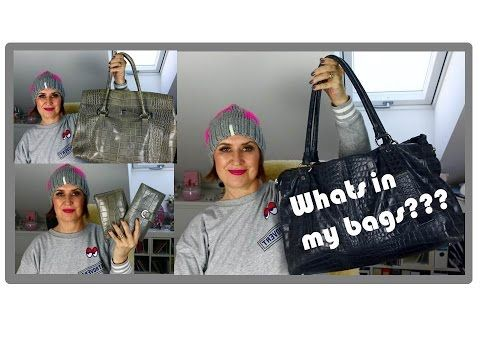 whats in my bags April 2017