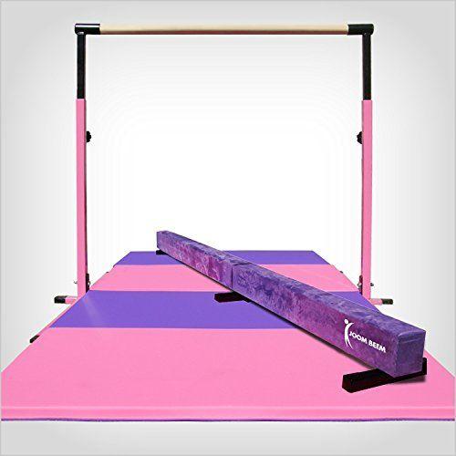 Pink Adjustable 3 5 Horizontal Bar And 8ft Folding Ma Https