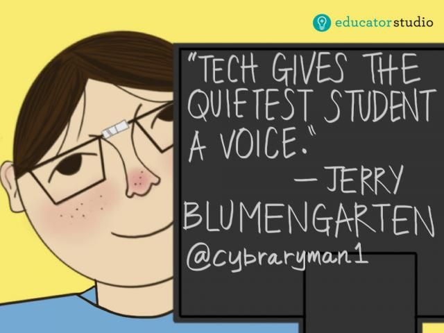 Tech gives the quietest student a voice