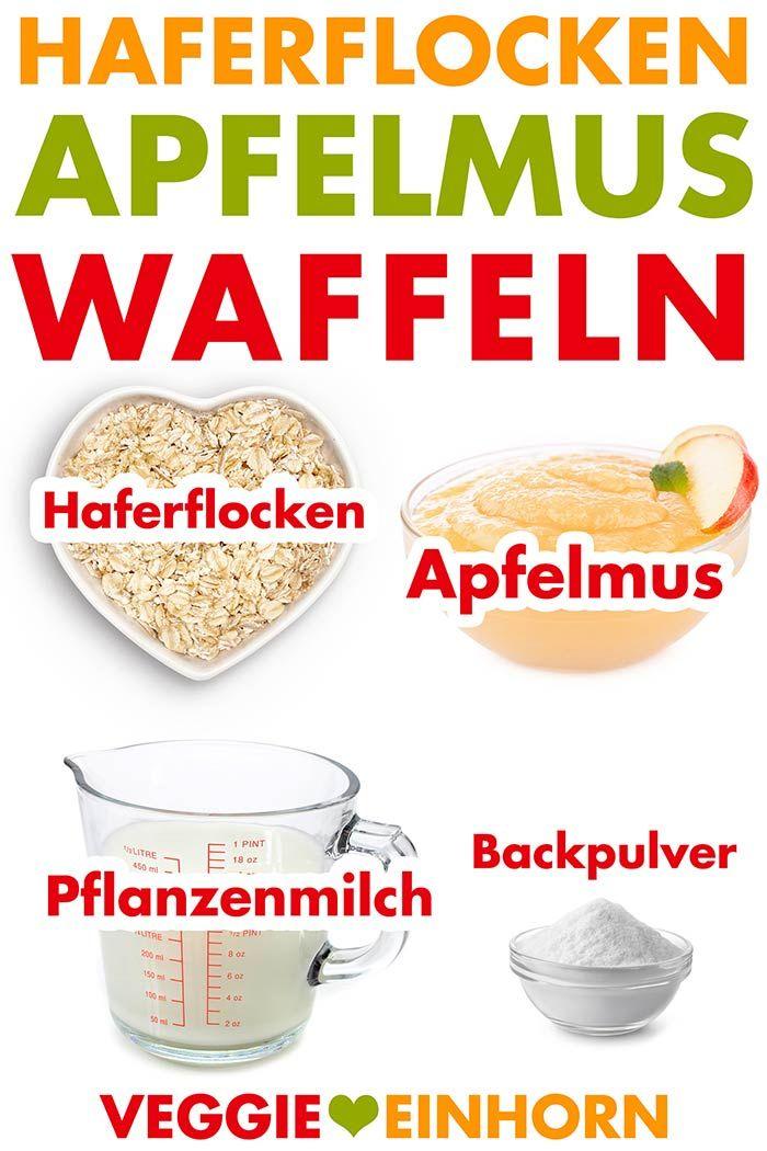 Vegane Waffeln mit Apfelmus [Einfach und lecker] – Jettie&Kuchenrezepte2020