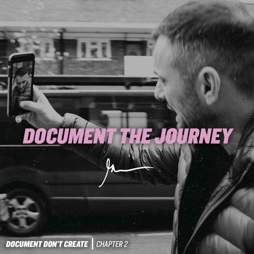 Document The Journey Gary Vaynerchuk Quotes Gary Vaynerchuk Career Quotes