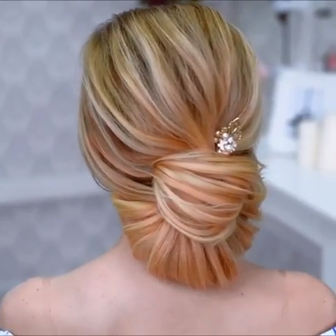 20 Stylish Updo Hairstyles That You Will Want to Try / Latest Hair Trends 2019 #eveninghair