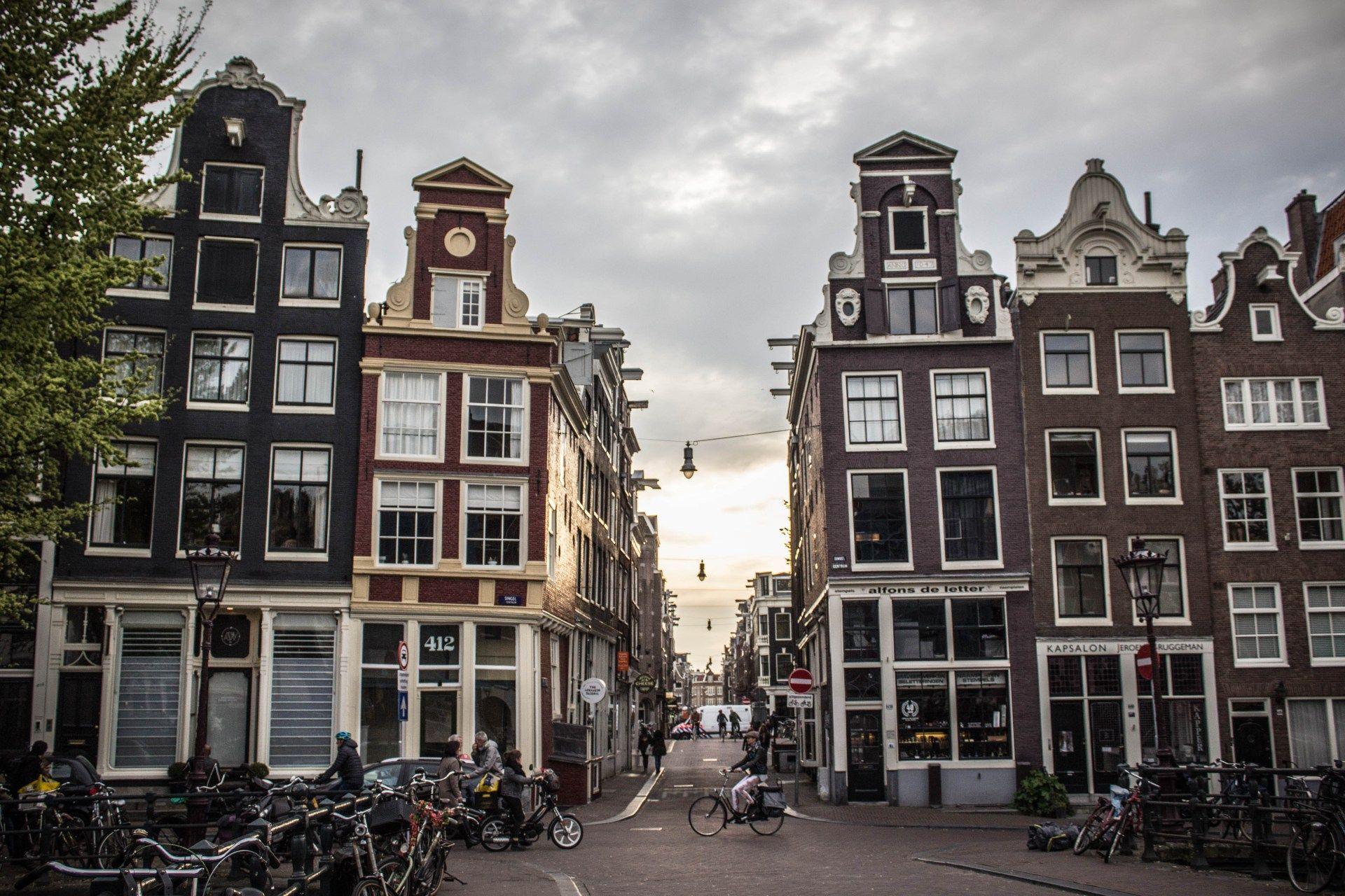 Amsterdam at sunset Amsterdam at sunset