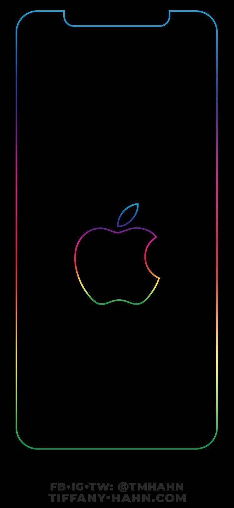 Pin On Lapices De Acuarela Rainbow Wallpaper Iphone Blue Wallpaper Iphone Apple Logo Wallpaper Iphone