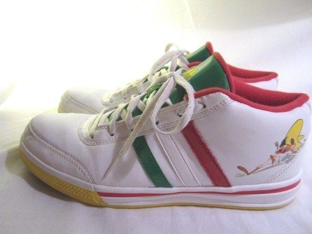 Adidas Speedy Sneakers Gonzales Looney Tunes Cartoon Mexcico Mens 7 Womens 8  #AdidasShoes #LooneyTunes