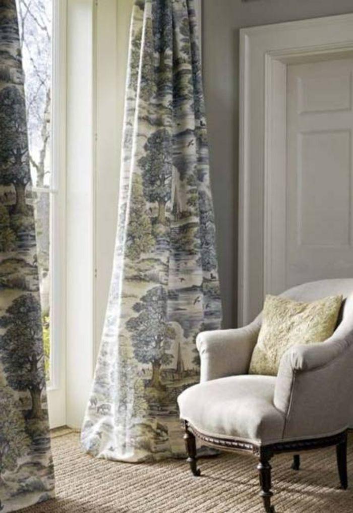 Gardinen Ideen, inspiriert von den letzten Gardinen Trends - Gardinen Landhausstil Wohnzimmer