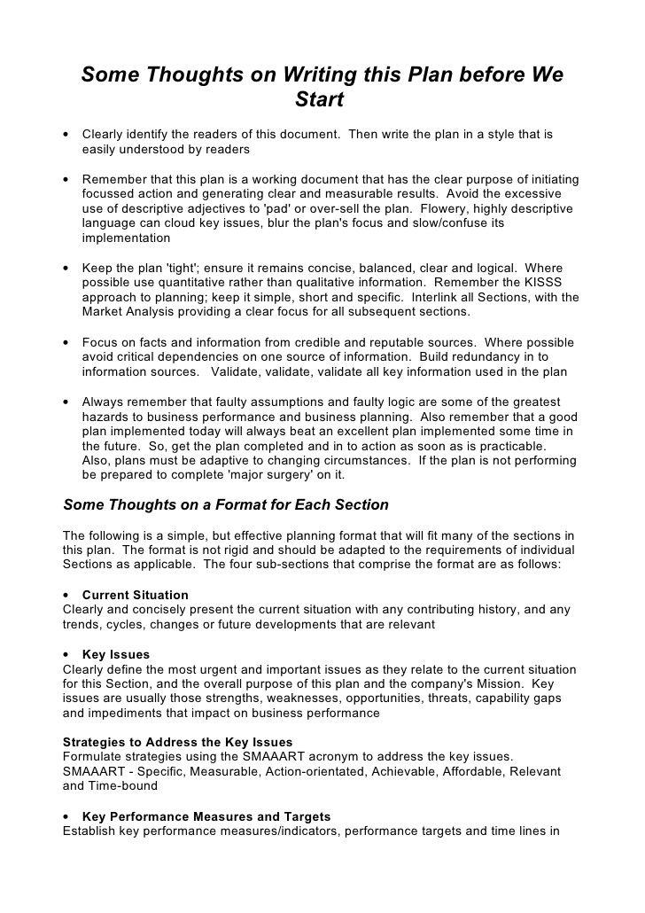 5 comprehensive strategic business plan template negcio comprehensive strategic business plan template flashek Images