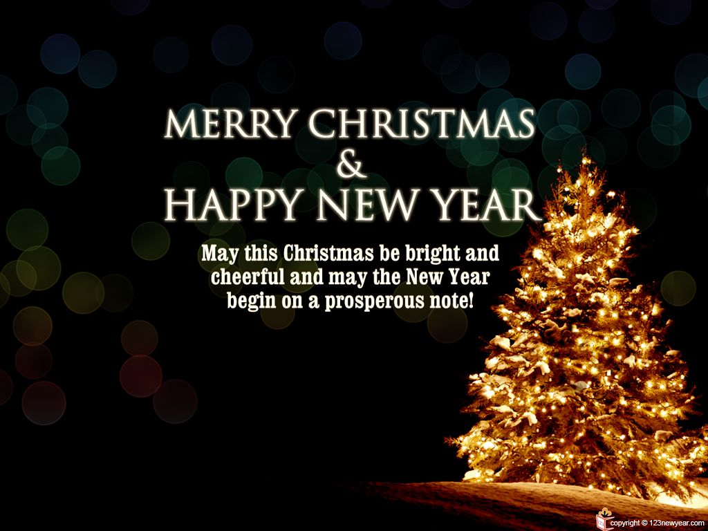 Merry Christmas And Prosperous New Year Wallpaper Merry Christmas Message Merry Christmas And Happy New Year Merry Christmas Wishes Images