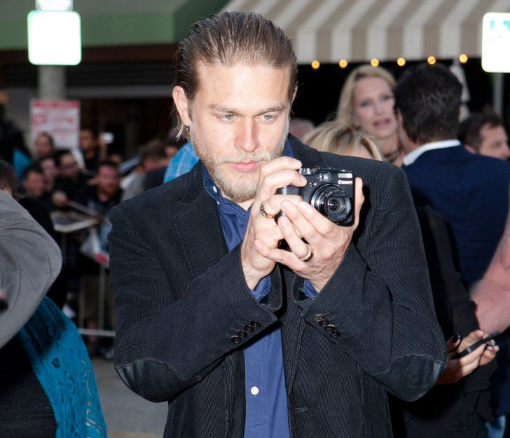 """Pin for Later: A Guide to Charlie Hunnam's Hot and Hilarious Facial Expressions The """"Yes, Yes, Work It, Work It"""""""