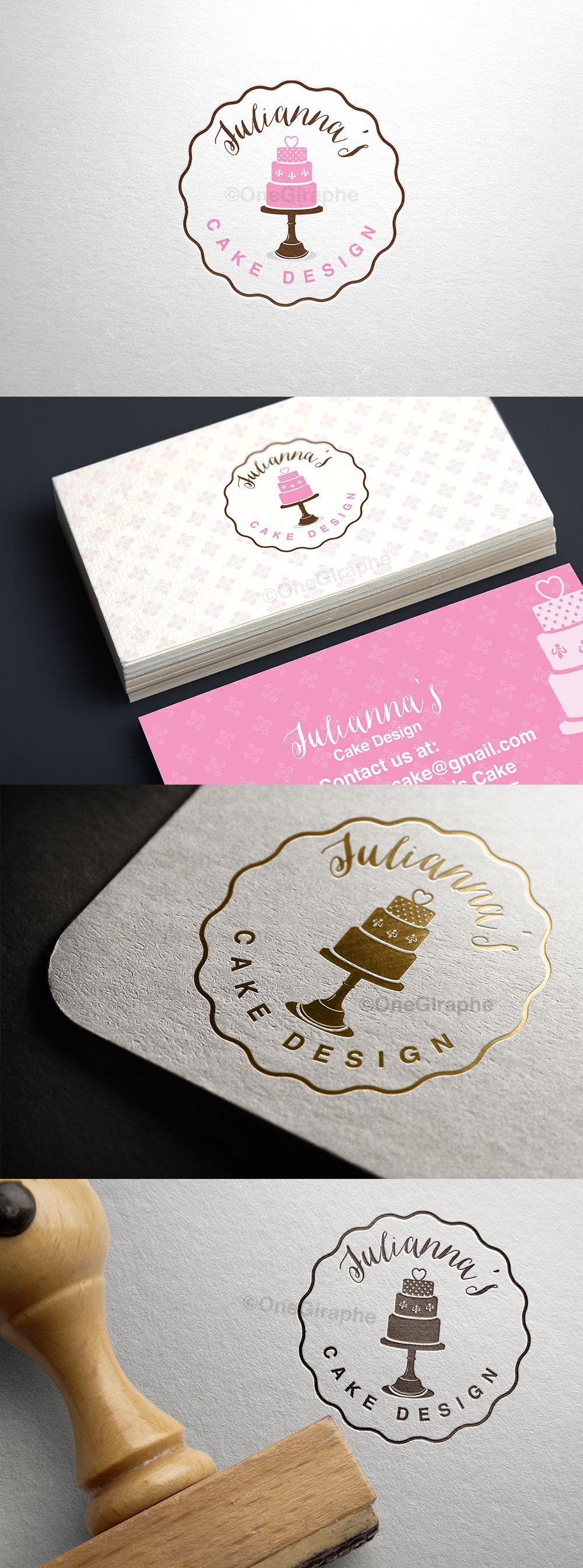 Beautiful logo :) … | cake logo ideas | Pinterest