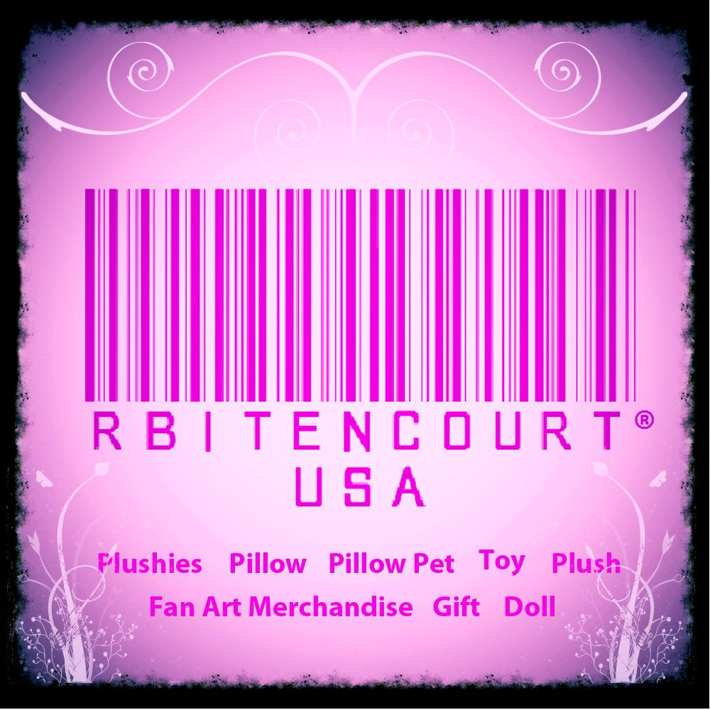 http://www.RbitencourtUSA.com gift Shop and request custom handmade plush pillows, cushions, backpacks, bags, and accessories for any fandom. Personalized, caricatures, and art commissions available!