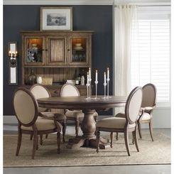 hooker furniture miramonte round pedestal dining table | end, Esstisch ideennn