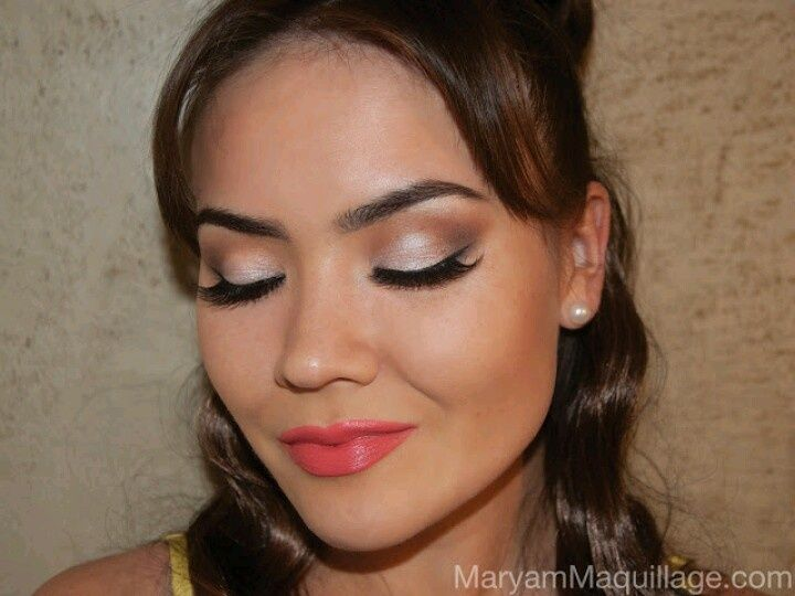 Makeup For Coral Dress Google Search Coral Dress Makeup Makeup Near Me Coral Makeup