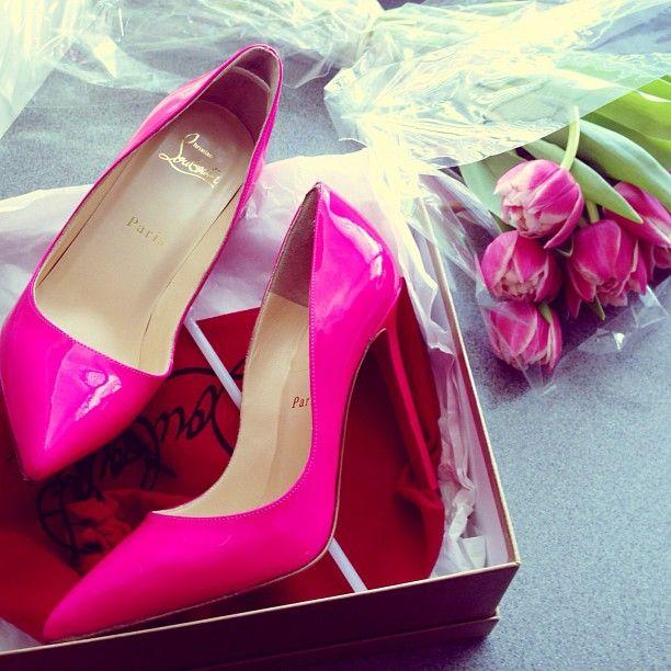 pink louboutin's