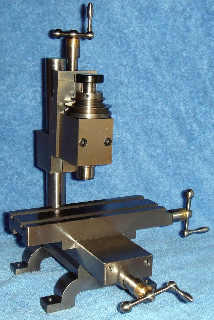 "Mini Rotary Table 3/"" 80mm Horizontal Vertical Model Milling Machine 4 Slots @US"