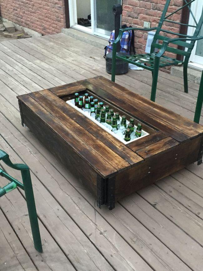 pallet furniture designs wood patio