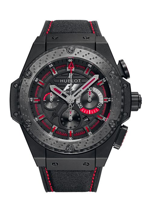 King Power F1™ Ceramic 48mm Chronograph watch from Hublot~ Baby let me upgrade you! Not to mention being told it's the best gift he's ever received and that HE loves it so much! <3