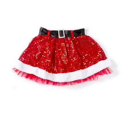 ba26083ffbe2 How cute! Be one sparkly Santa in this Sequin Skirt ...
