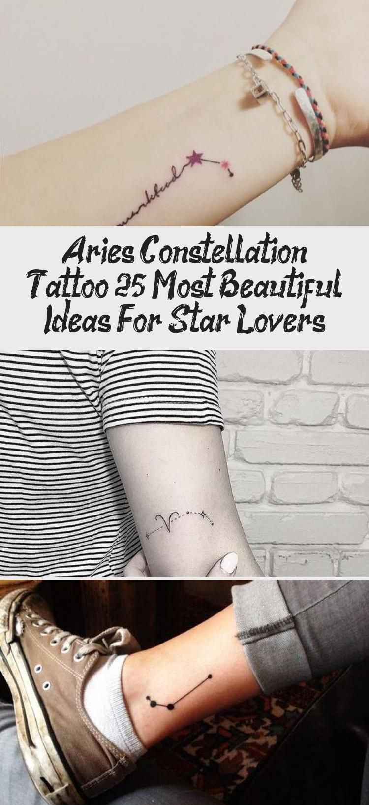Pin on aries constellation tattoo