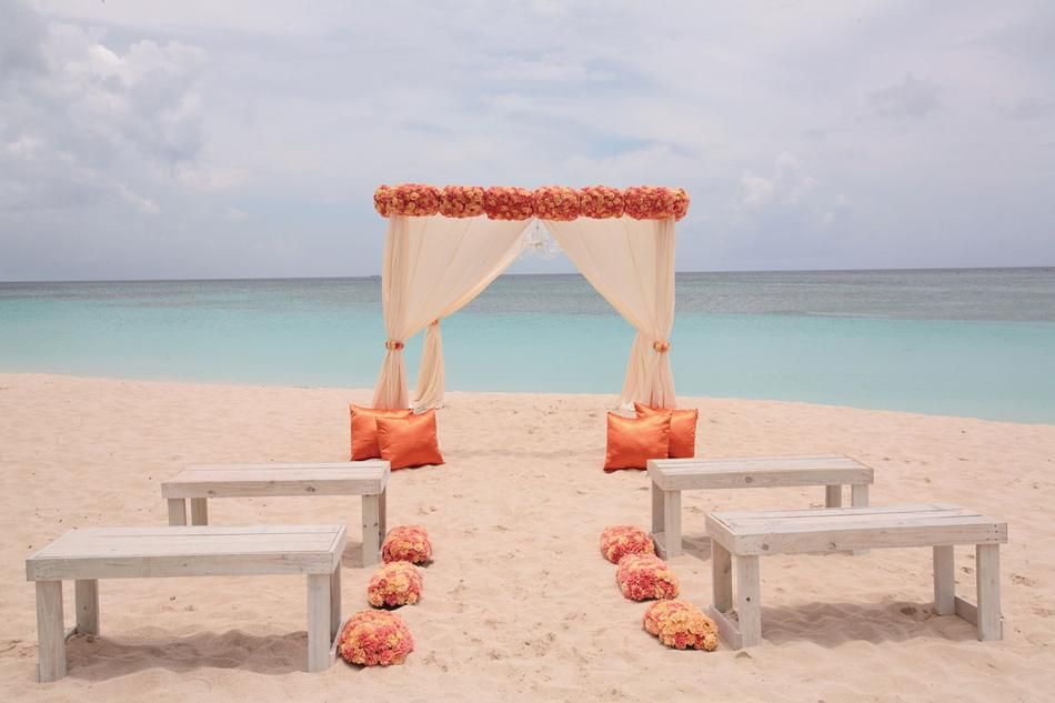 21 Most Romantic Beach Wedding Destinations With Images Sunset