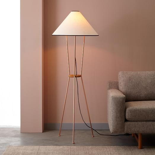 Commune Tripod Floor Lamp | West Elm