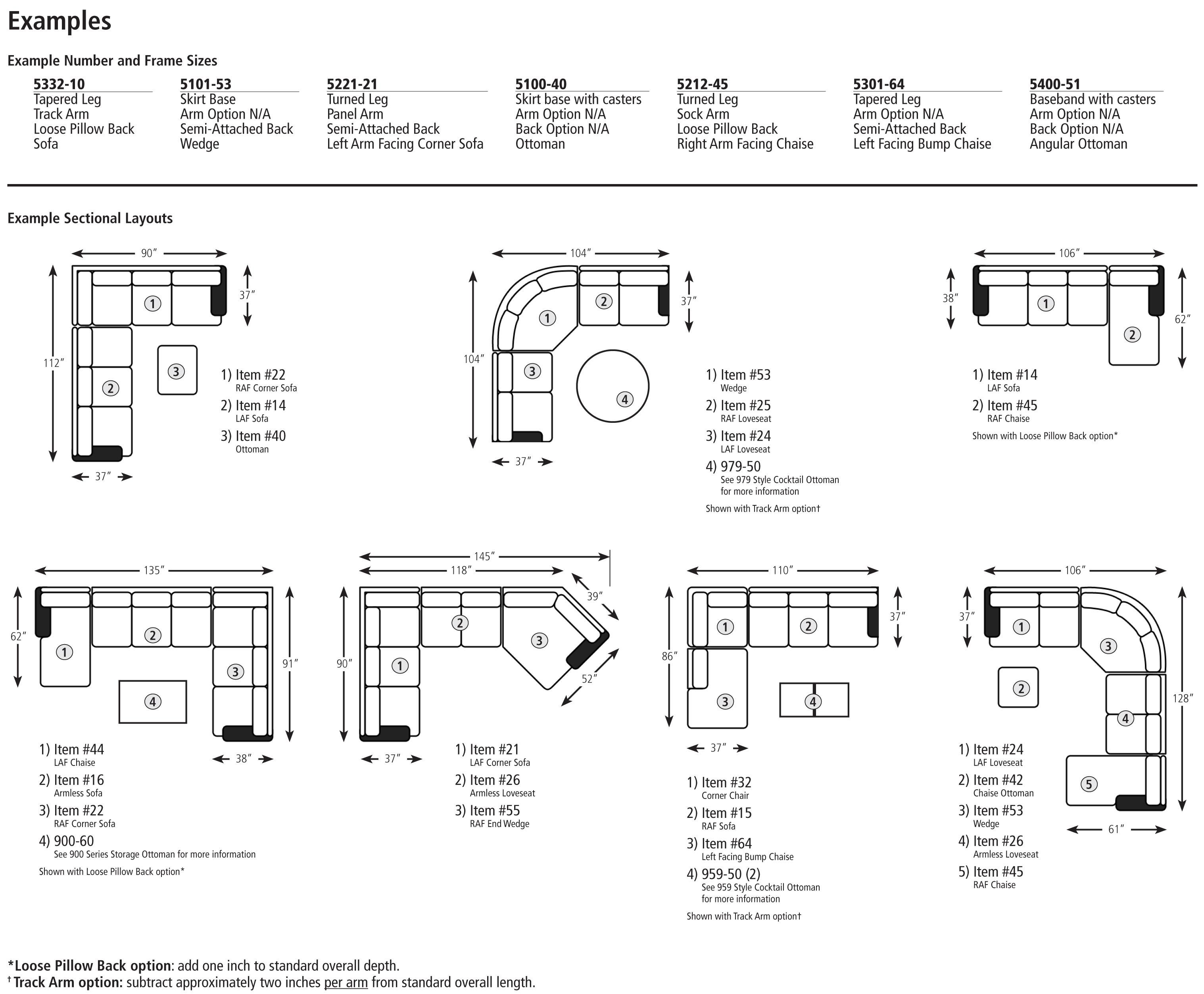 Sectional Sofas By Size With Images