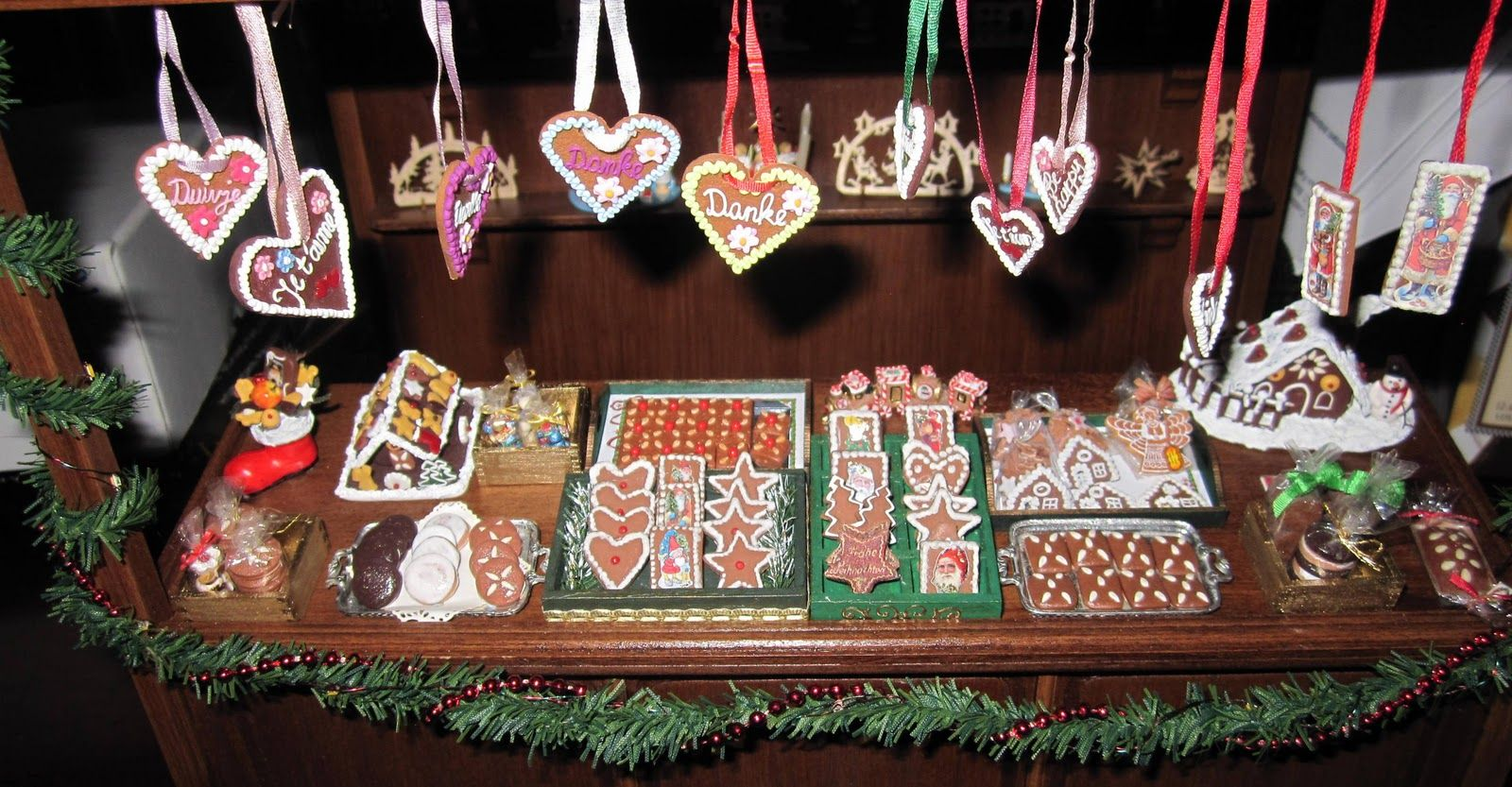 Small Talk My Miniature German Christmas Market Stall