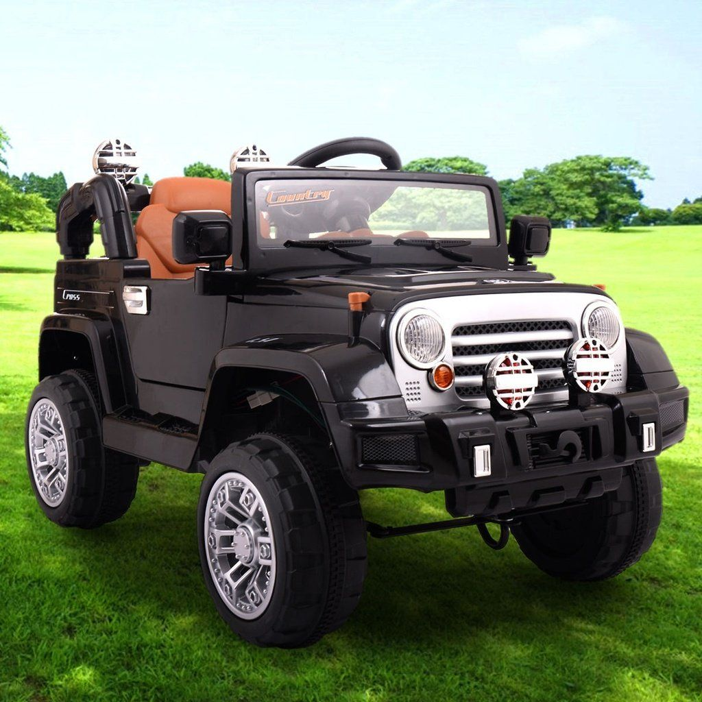 12v Jeep Style Kids Ride On Truck Battery Powered Electric Car W Remote Control Kids Ride On Car Electric Car