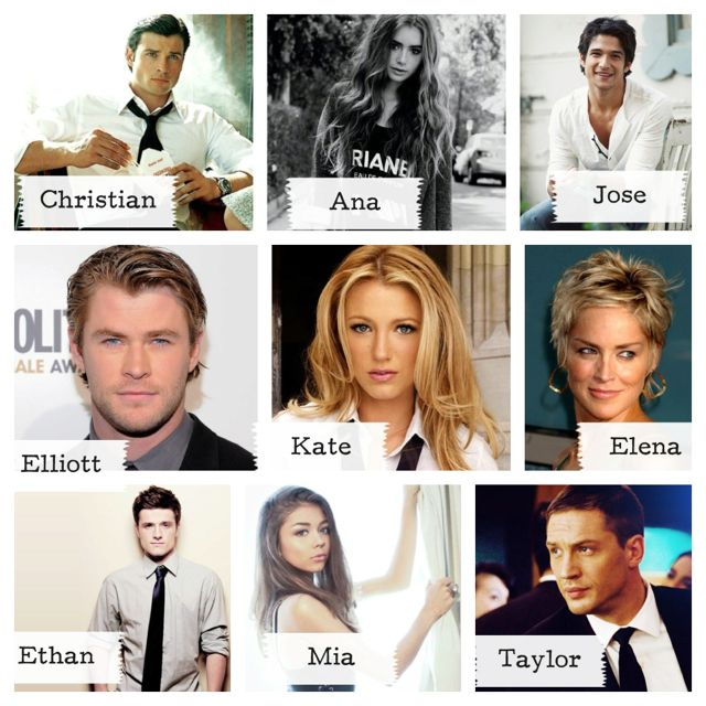 50 Shades Of Grey Movie Cast Kate