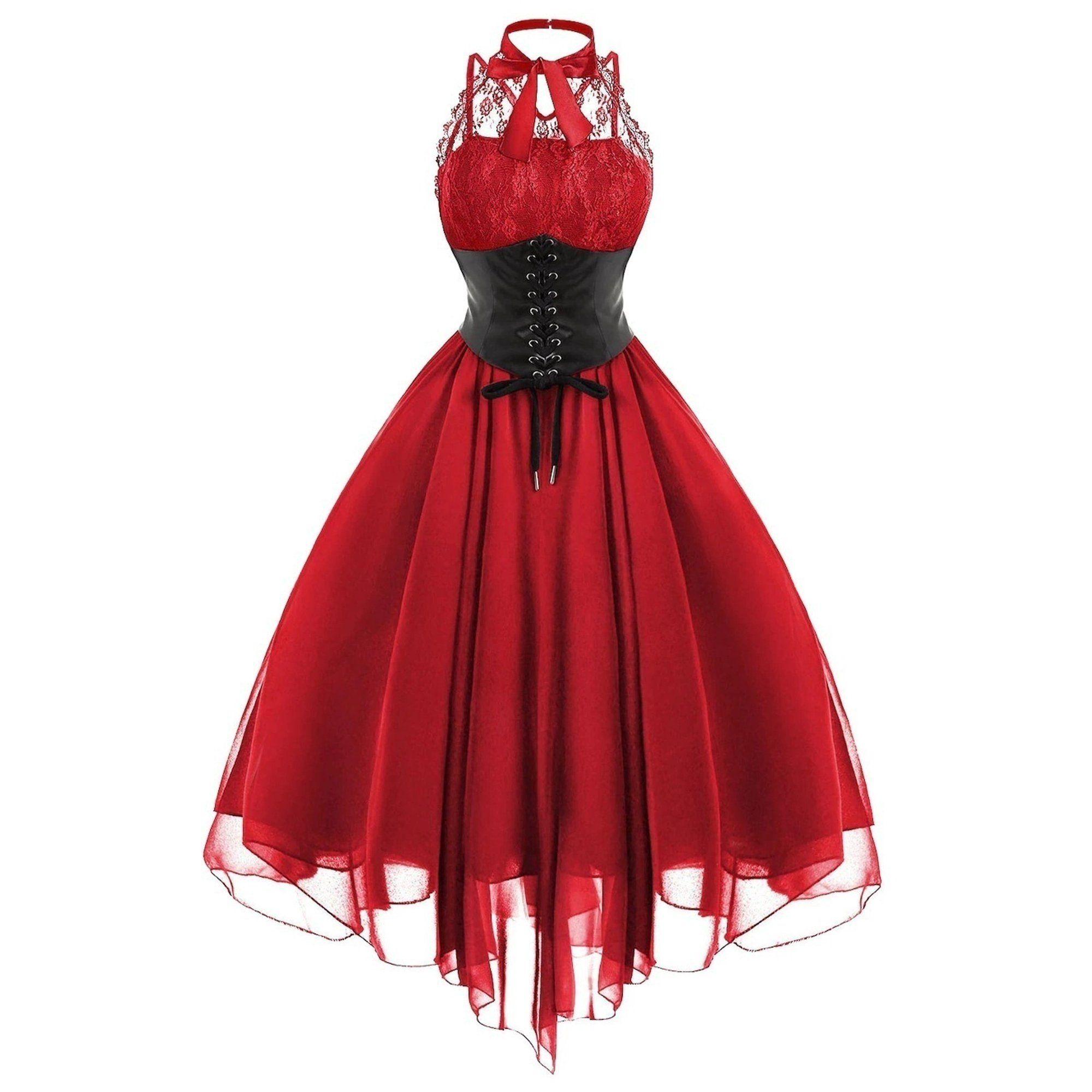 Lovaru Lace Panel Cross Back Gothic Corset Dress Walmart Com Gothic Corset Dresses Goth Dress Womens Dresses [ 2000 x 2000 Pixel ]