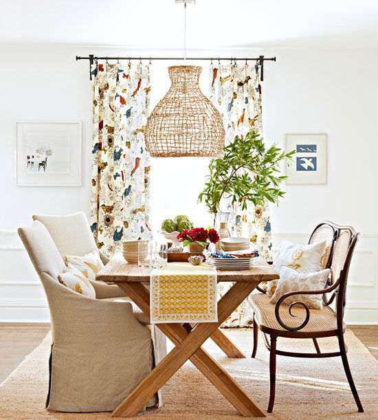 Mix and Match Dining Room Chairs Unfinished wood Tables and