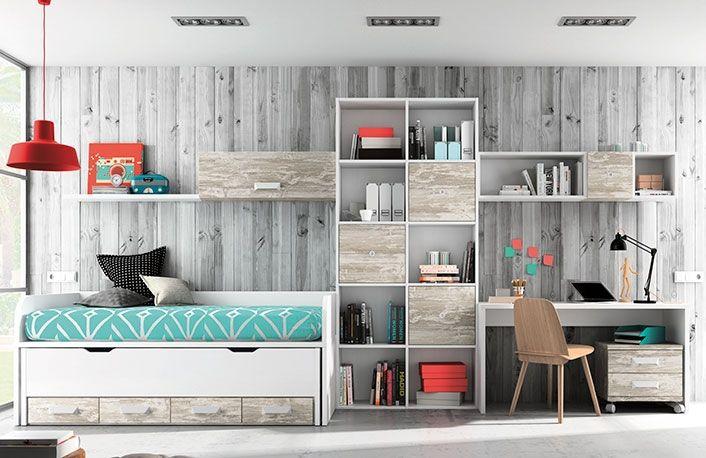 Dormitorio juvenil vintage blanco Camer copil Pinterest Ideas