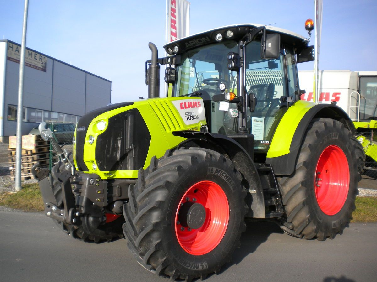 Tracteur agricole claas arion 550 claas tractors - Tracteur cars ...