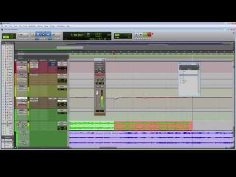 Pro Tools Tutorial Templates How To Use Print Tracks To Improve